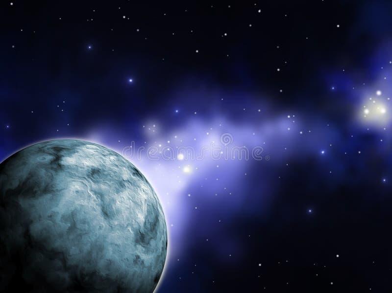 Blauer Planet vektor abbildung