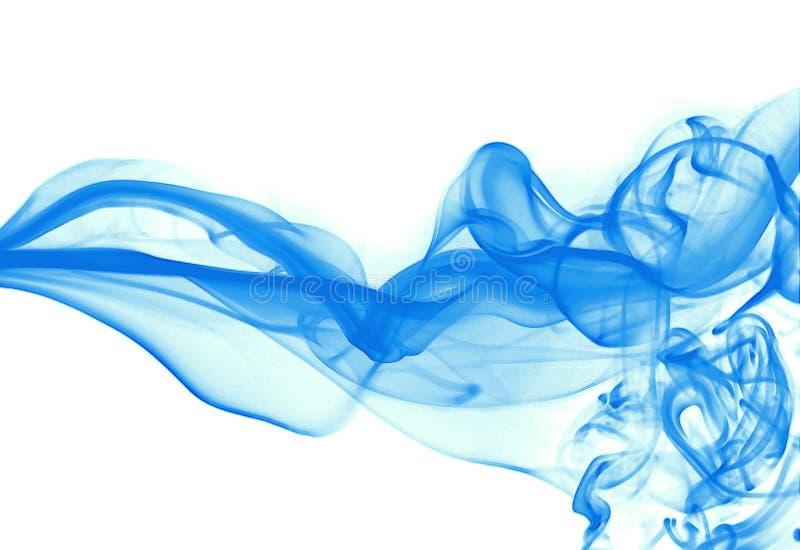 Blauer Rauch lizenzfreie stockfotografie