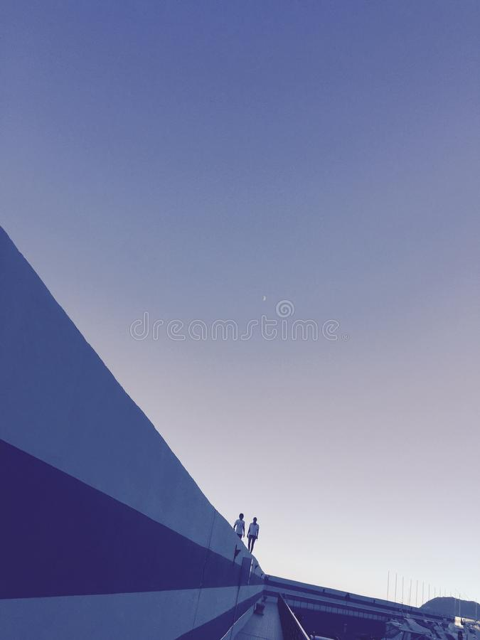 Blauer Romance lizenzfreie stockfotos