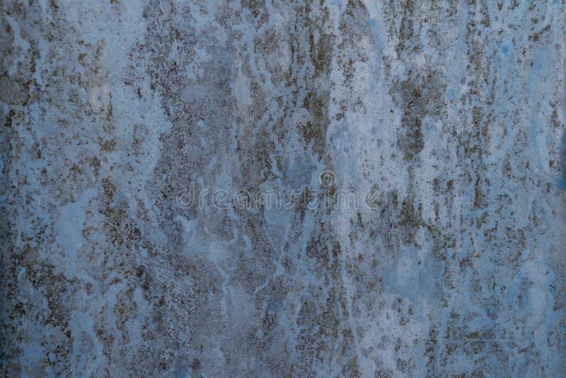 Blauer rostiger Hintergrund stockfotos