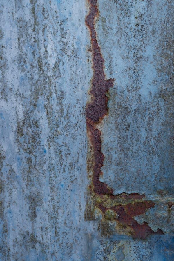 Blauer rostiger Hintergrund lizenzfreies stockfoto