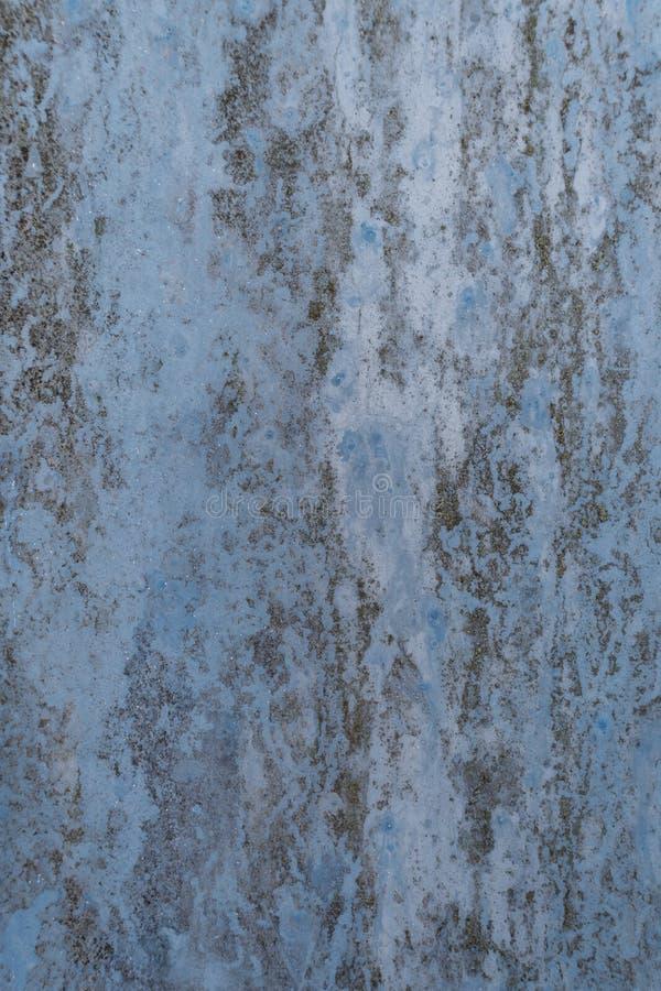 Blauer rostiger Hintergrund stockfoto