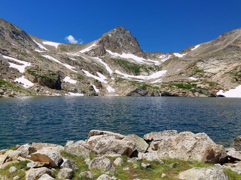 Blauer See, Colorado lizenzfreie stockfotos