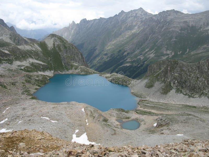 Blauer See von Murudzhu stockbilder