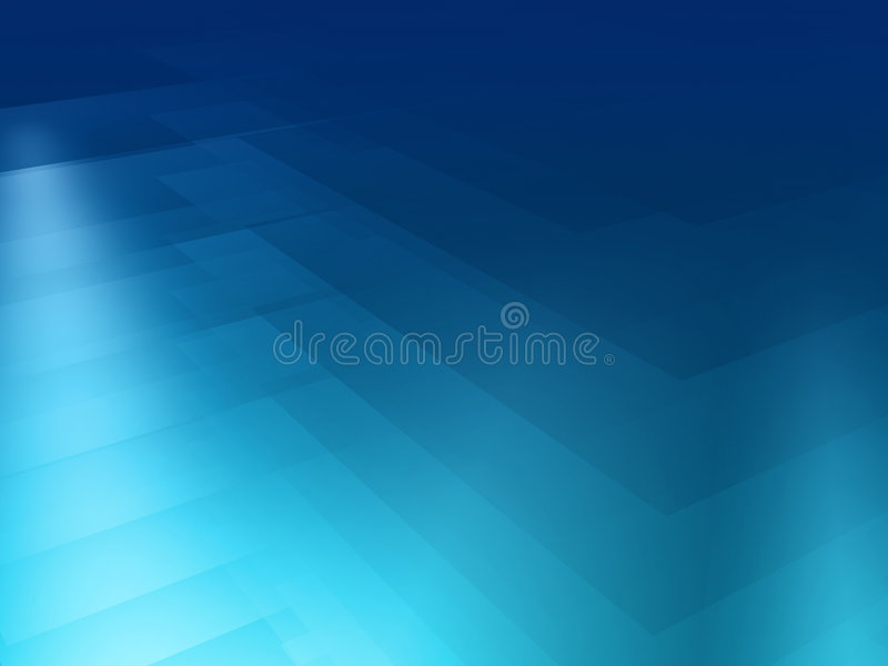 Blauer Spektrumhintergrund stock abbildung