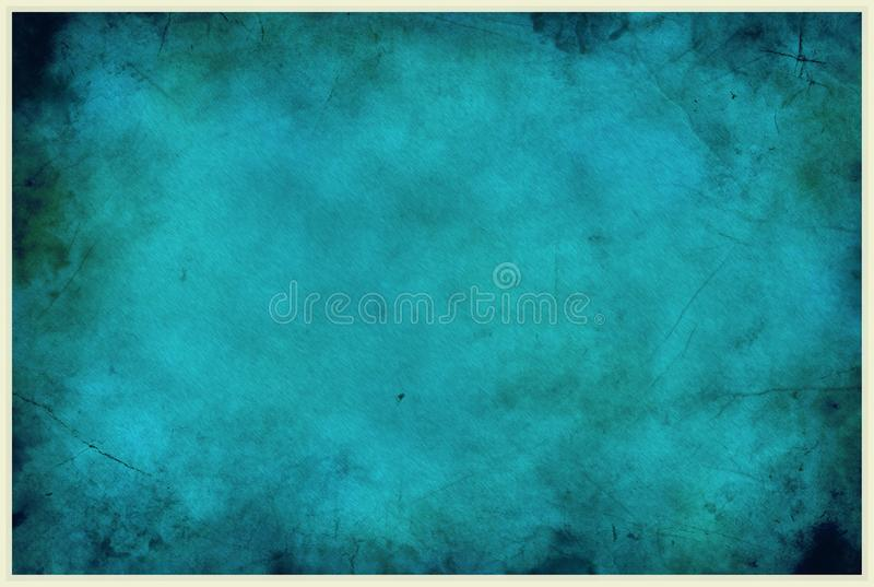 Blauer Stadtverfall-Hintergrund stockfotos