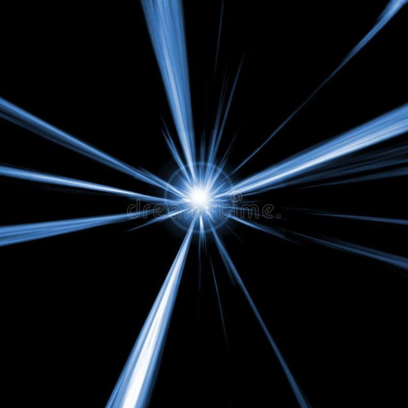 Blauer Stern stock abbildung