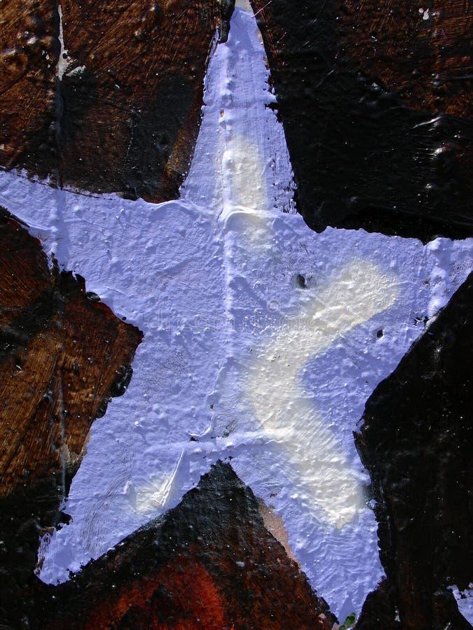 Blauer Stern stockfoto