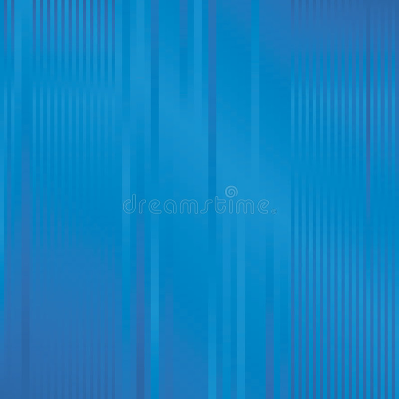 Blauer stripy Hintergrund lizenzfreie abbildung