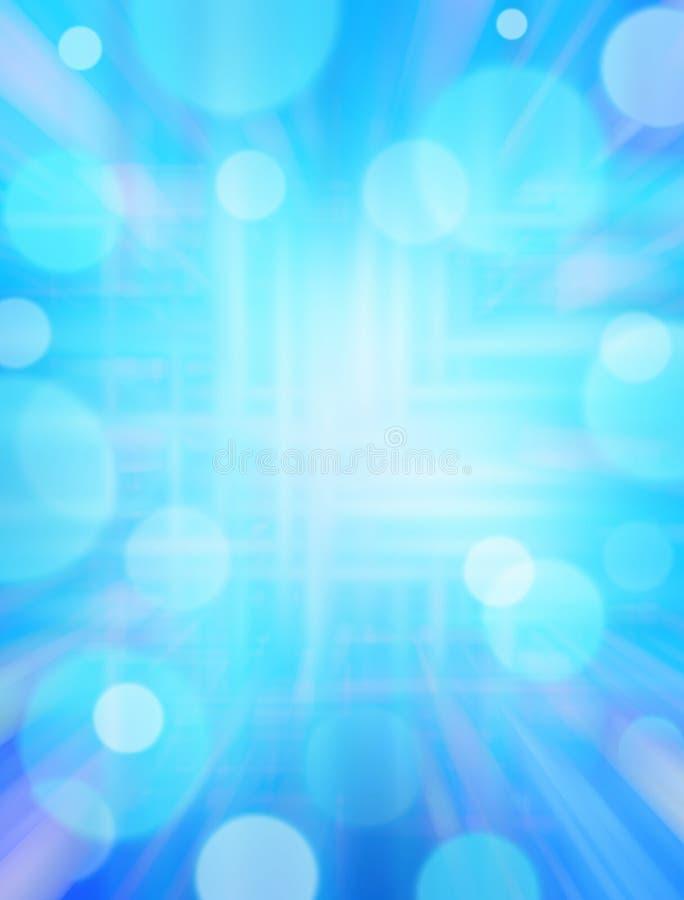Blauer Techno Hintergrund stockfotografie
