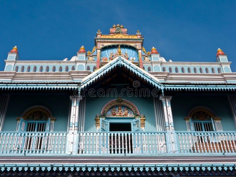 Blauer Tempel lizenzfreies stockfoto