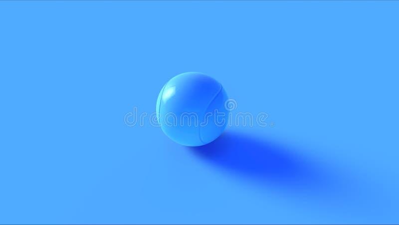 Blauer Tennisball vektor abbildung