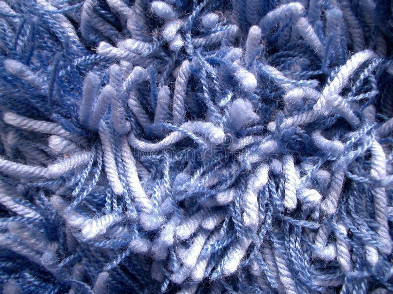 Blauer Teppich stockfotografie