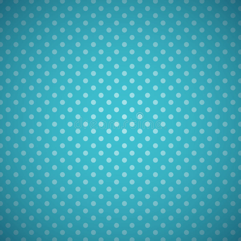 Blauer Tupfenhimmelhintergrund lizenzfreie abbildung