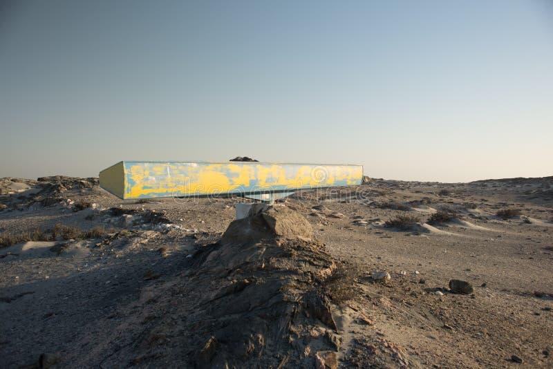 Blauer und gelber Radar-Scanner stockfotografie