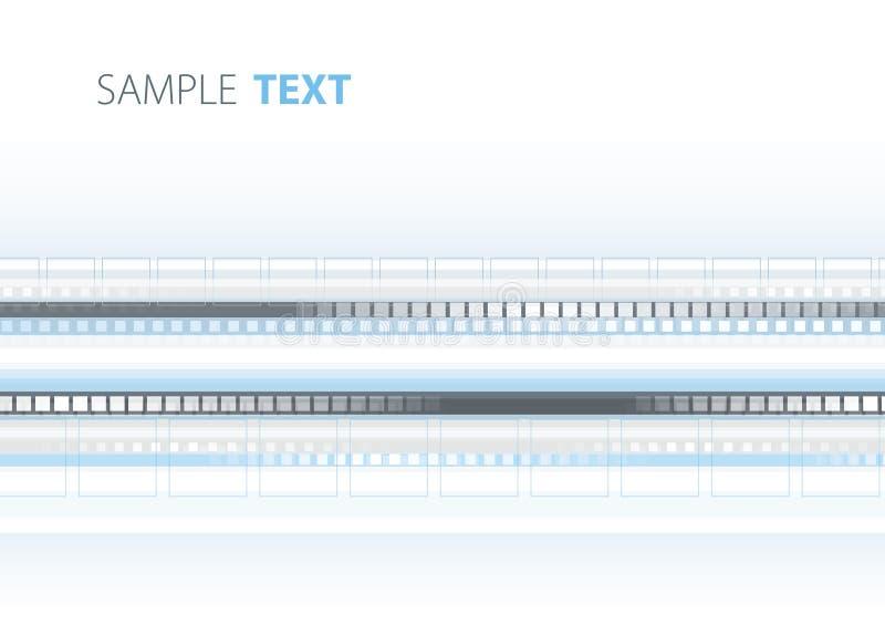 Blauer und grauer Hintergrund lizenzfreie abbildung