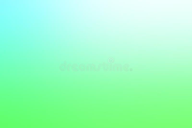 blauer und hellgrüner Steigungshintergrund stockfoto