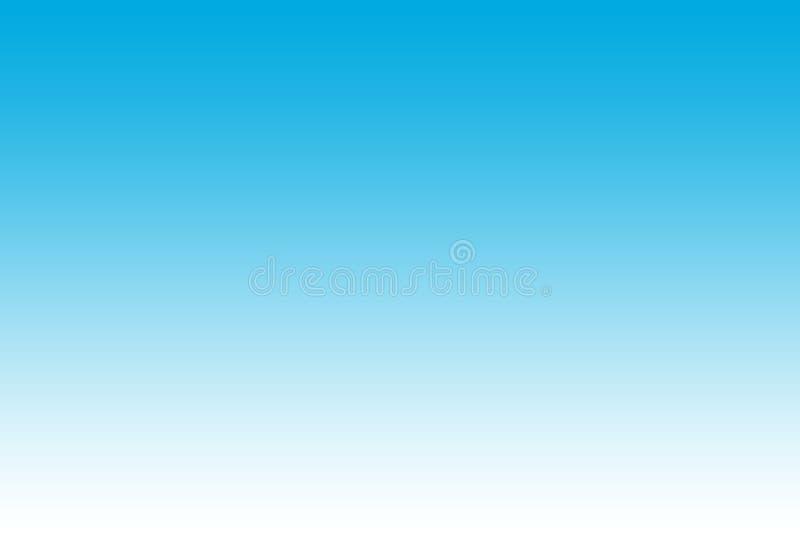Blauer und weißer abstrakter Hintergrund der Steigung stockfotografie