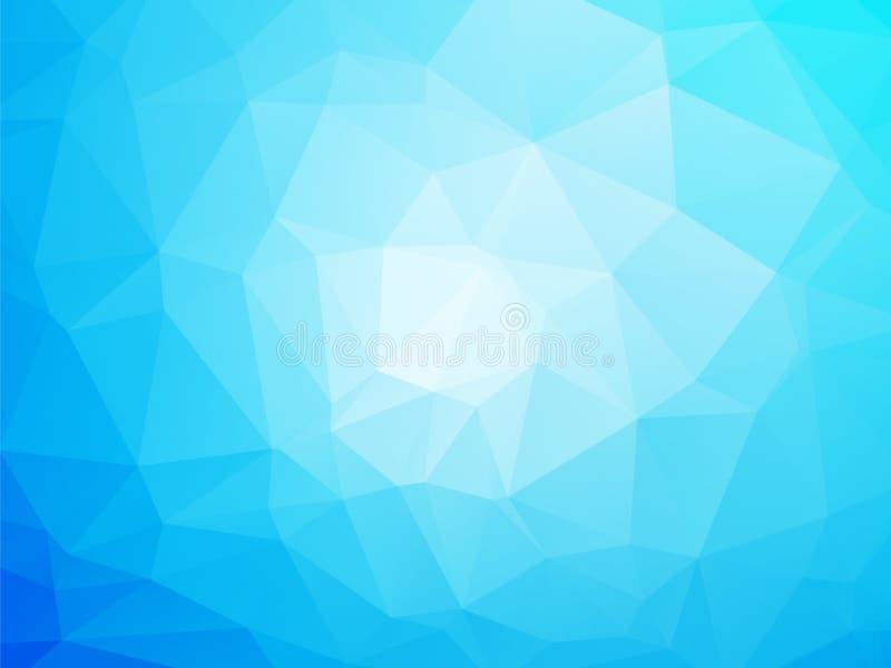 Blauer und weißer Hintergrund vektor abbildung
