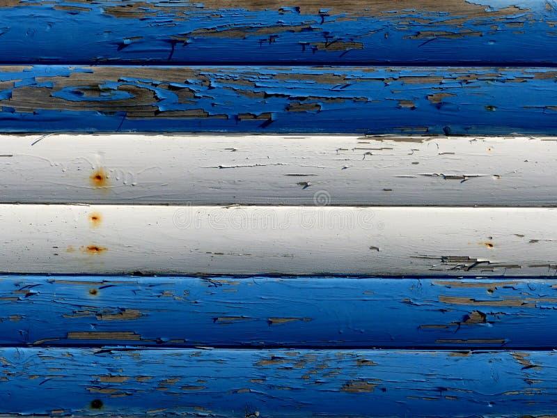 Blauer und weißer Untergrund lizenzfreie stockfotos