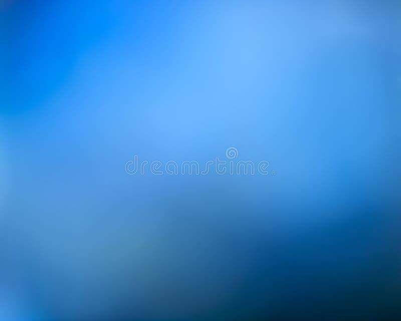 Blauer unscharfer abstrakter Hintergrund lizenzfreie stockfotografie