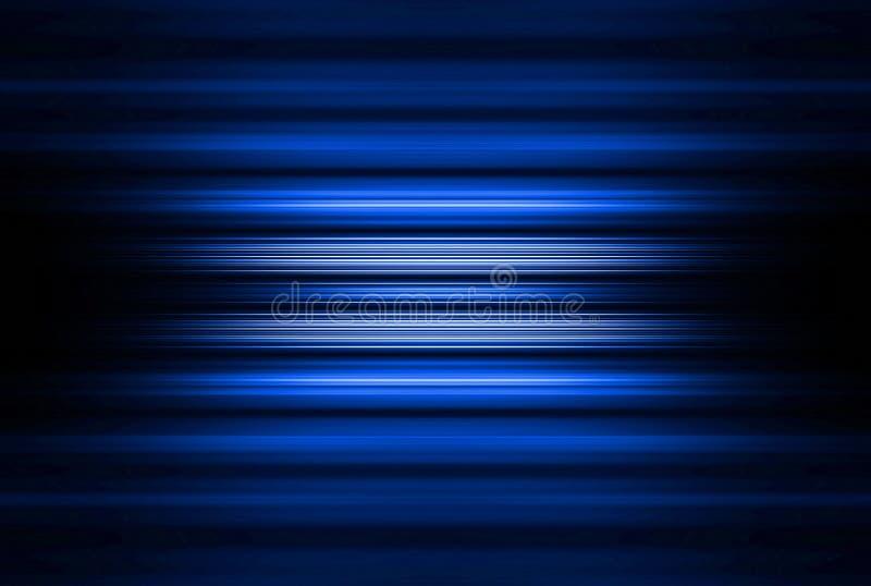 Blauer unscharfer Streifenhintergrund stockfotos