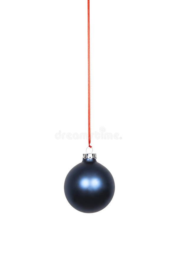 Blauer Weihnachtsfühler lizenzfreies stockfoto
