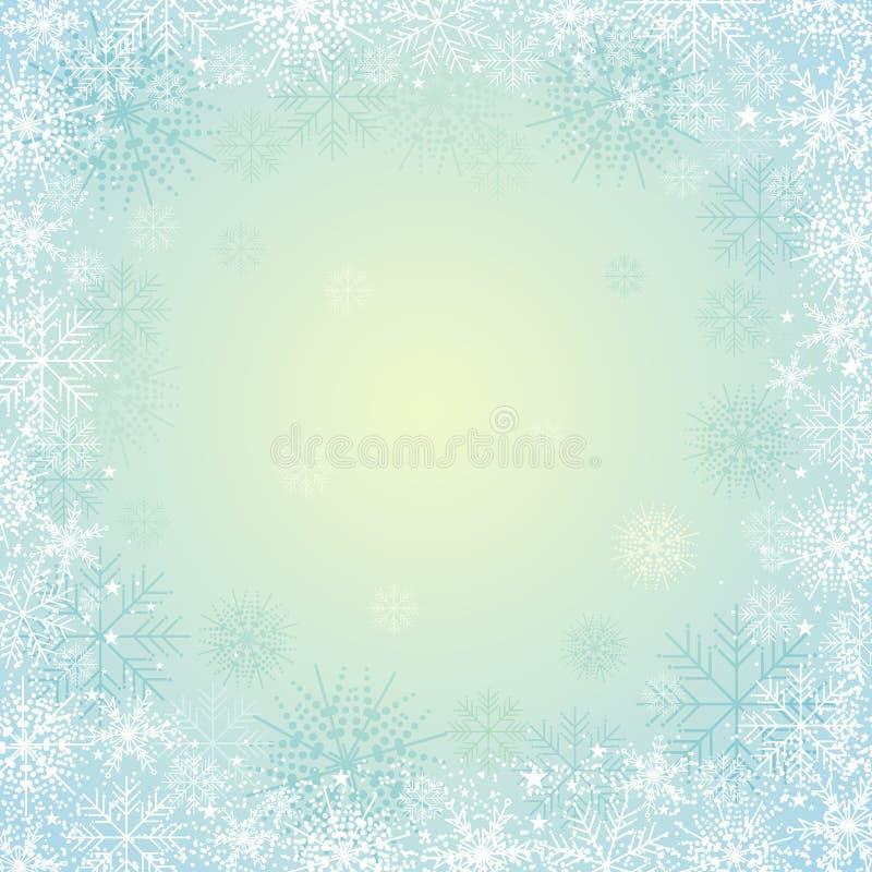 Blauer Weihnachtshintergrund,   vektor abbildung