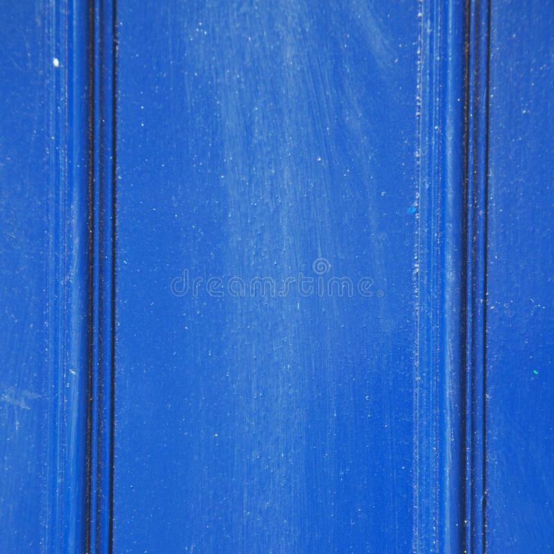 blaues abstraktes Metall in nglan London Stahl und backgroun Geländer e stockfotografie