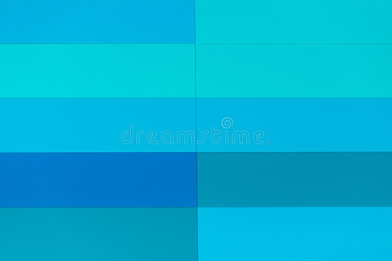 Blaues abstraktes Muster des Buntglasfensters stockfoto