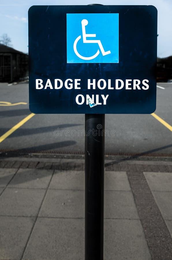 Blaues Abzeichen stockbilder