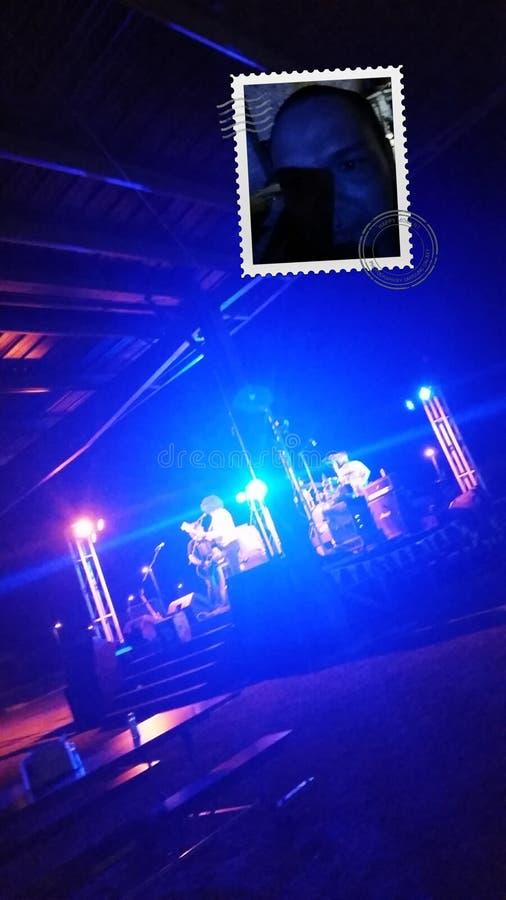 Blaues Band stockbilder