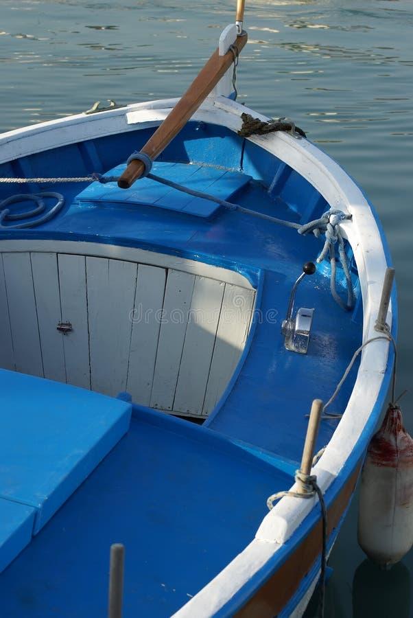 Blaues Boot lizenzfreie stockfotografie