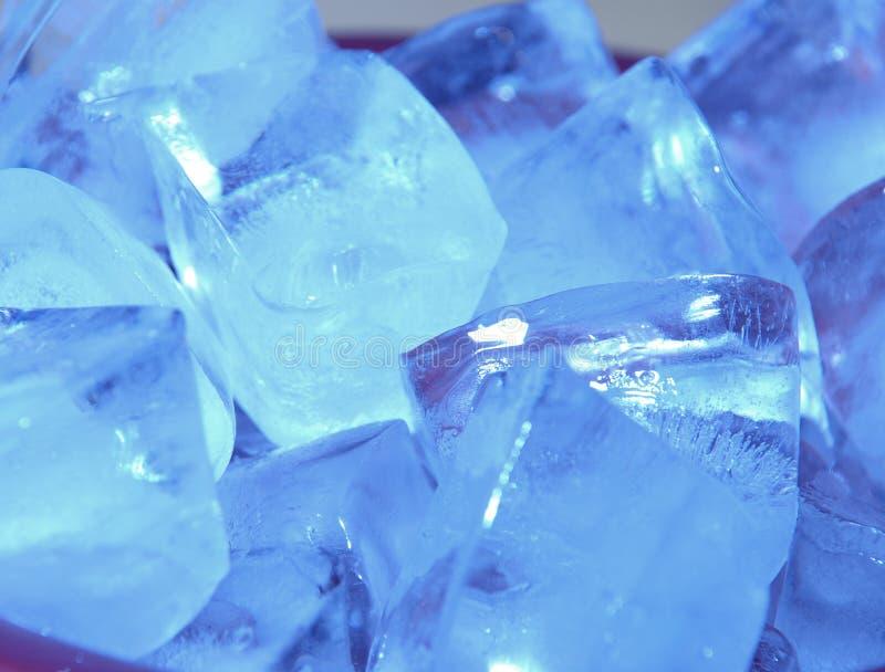 Blaues Eis stockfotografie