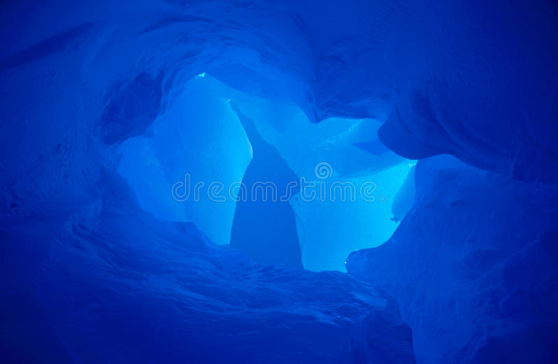 Blaues Eis II stockfotografie