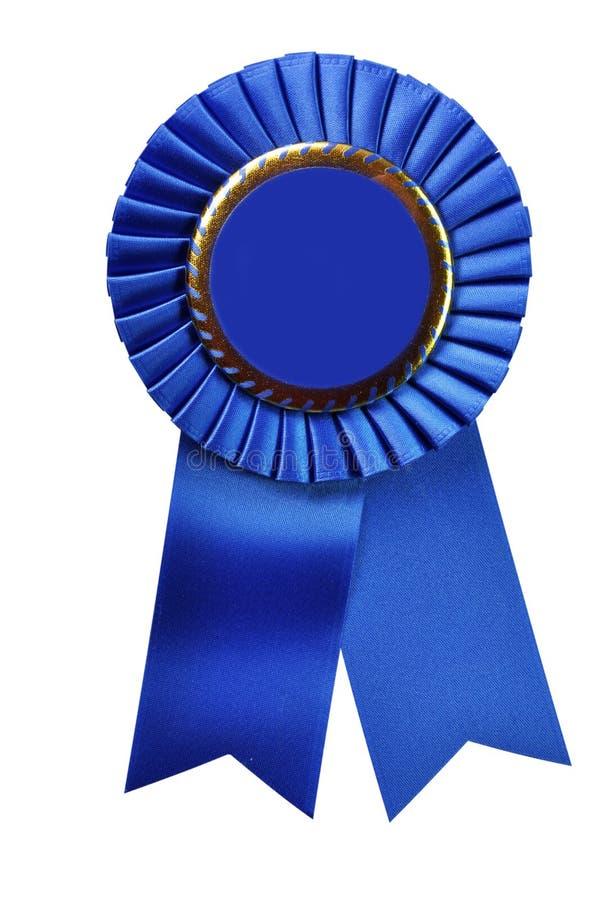 Blaues Farbband-Preis (mit Ausschnittspfad)