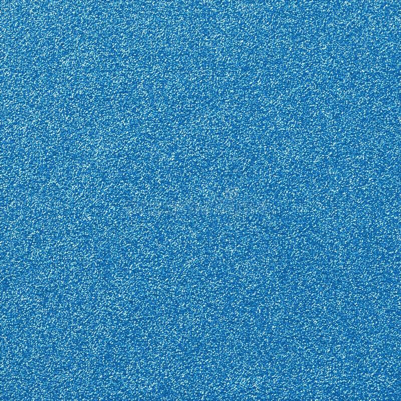 Blaues Funkeln-Zauber-Papier stockfoto