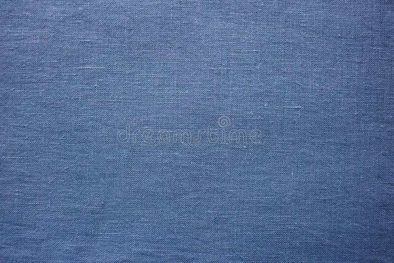Blaues Gewebe, ausführliche Textiloberfläche lizenzfreies stockfoto