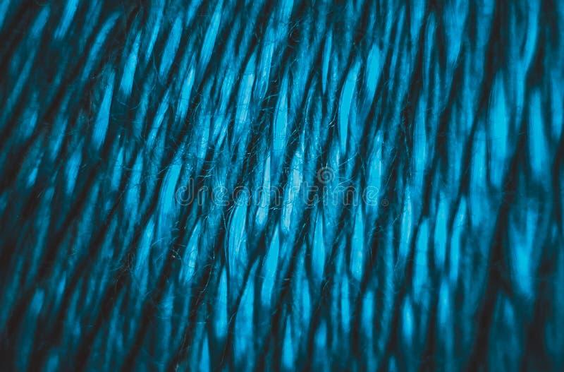 Blaues Gewinde stockfotografie