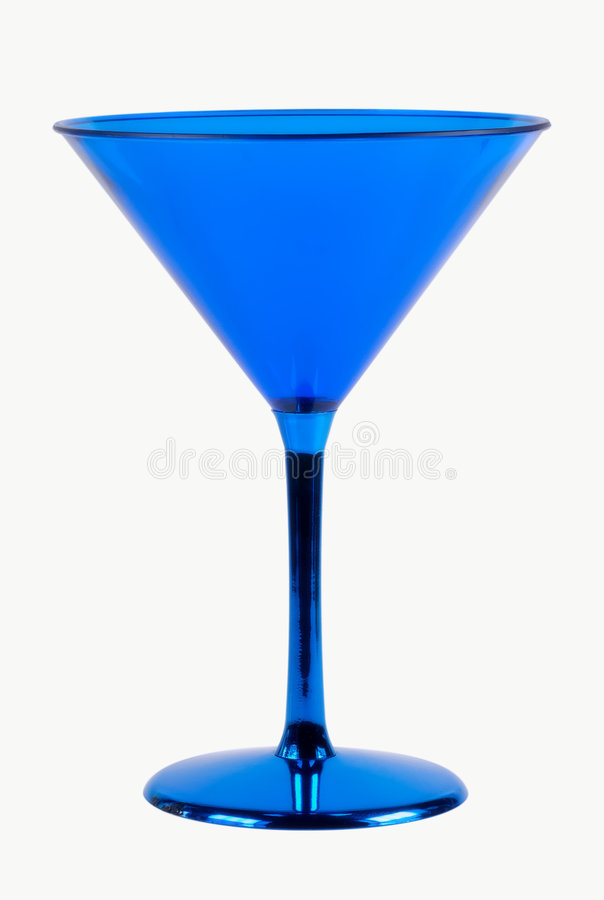 Blaues Glas lizenzfreies stockbild