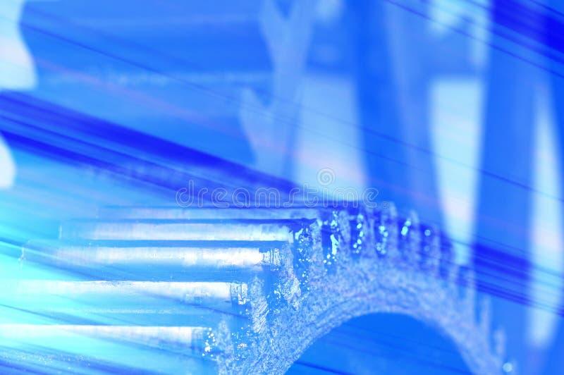 Blaues grunge lizenzfreie stockfotografie