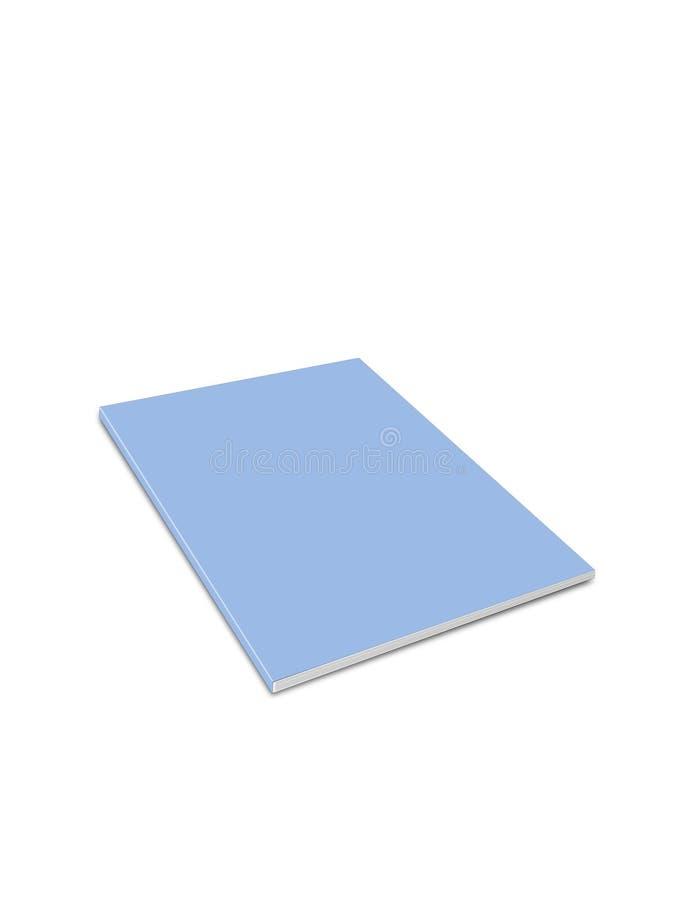 Blaues Journal vektor abbildung