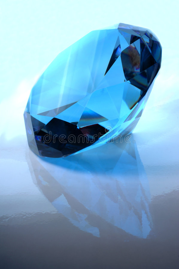 Blaues Juwel lizenzfreie stockbilder