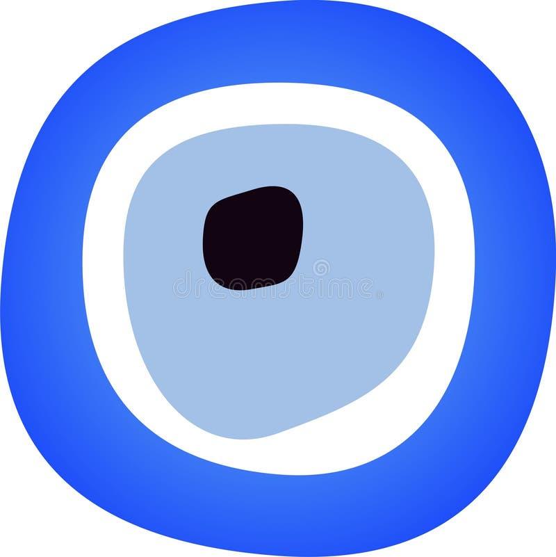 Blaues Korn vektor abbildung