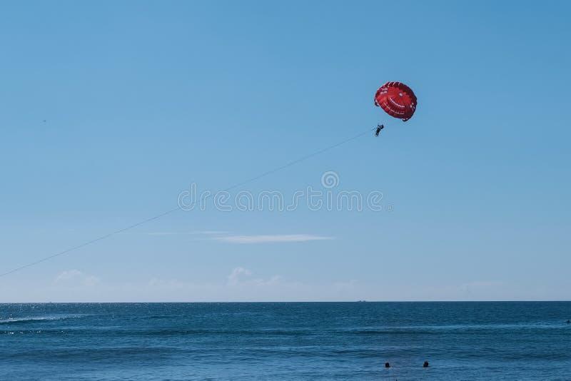 Blaues Meer, Himmel u stockfotografie