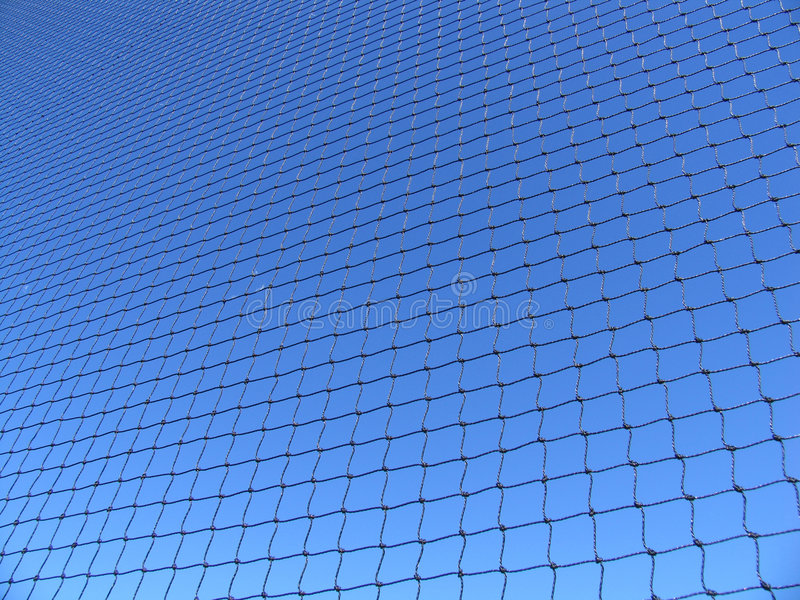 Blaues Netz Stockfotos