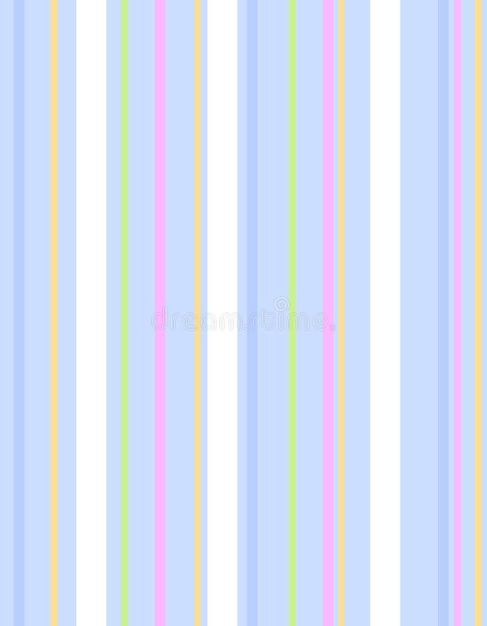 Blaues Ostern Stripes Muster-Hintergrund vektor abbildung