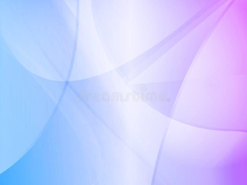 Blaues purpurrotes Steigung-Mac stock abbildung