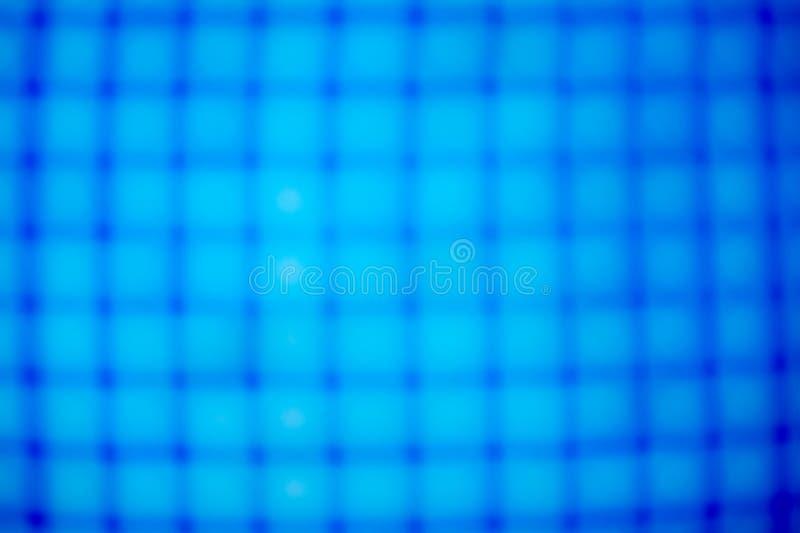 Blaues Rasterfeld stockbild