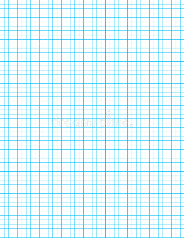 Blaues Rasterfeld auf Weiß vektor abbildung